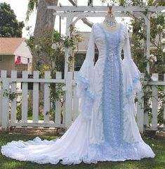 New! Narnia Inspired Medieval Fantasy Gown Color Choice  GORGEOUS!!!!