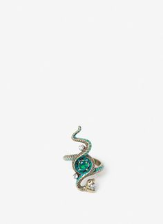 Uterqüe United Kingdom Product Page - Jewellery - View all - Snake ring - 35