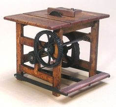 Antique Table Saw.