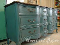 Hartwood Roses: Big Blue Dresser, the Reveal