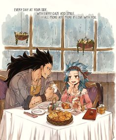 I love Gajeel x Levy 💕 Gale Fairy Tail, Anime Fairy Tail, Fairy Tail Comics, Fairy Tail Guild, Fairy Tail Ships, Fairy Tales, Fairy Tail Family, Fairy Tail Couples, Gajeel Et Levy