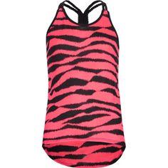 FULL TILT Zebra Girls Hi Low Tank