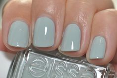Duck egg blue Essie nail polish