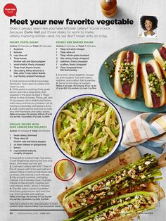 """""""Meet Your New Favorite Vegetable"""" from Redbook, June 2017. Read it on the Texture app-unlimited access to 200+ top magazines."""