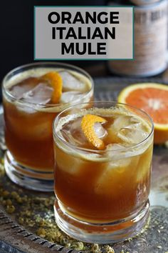 Looking for a new Fernet Braca cocktail? Try this Orange Italian Mule – an easy cocktail with an herbal variation on the moscow mule!