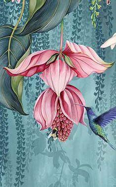 Tapeten fototapetеn fototapety tapety murals papier-peint wallpapers — - Les images impressionnantes de diy que l'on propose pour vous Une image de qualité peut exprimer - Mural Art, Wall Murals, Wall Art, Art Floral, Silk Painting, Of Wallpaper, Paint Designs, Botanical Prints, Flower Wall