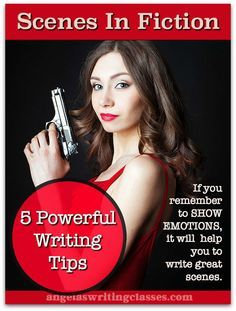 Want to write wonderful fiction readers love? Learn to write powerful scenes. Here are five writing tips which will help to you get to grips with scenes.