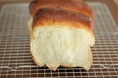 Milk Bread [Take 2] (Tangzhong Method). Incredibly soft, bouncy and fluffy, which is often a signature style for Asian breads.
