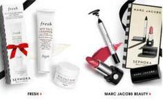 FREE 2016 Marc Jacobs Makeup Set or FRESH Beauty Set on http://www.freebies20.com/