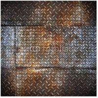 Grunge Diamond Metal Plate - Peel and Stick Wall Decal by Wallmonkeys Boys Bedroom Furniture, Boys Bedroom Decor, Bedroom Themes, Bedroom Ideas, Bedrooms, Truck Bedroom, Garage Bedroom, Teen Boy Rooms, Toddler Rooms