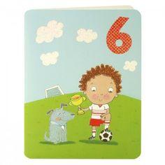 Boy Age Six Card