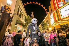 Halloween in Las Vegas at The LINQ Promenade
