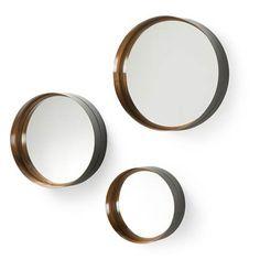 Kave Home Ronde Spiegel 'Wilton' set van 3 stuks - Mirror