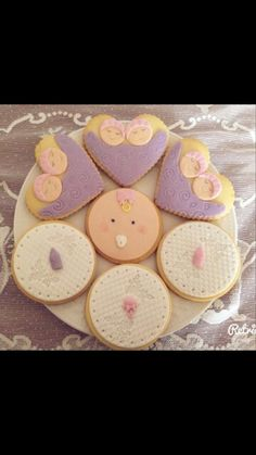 Baby Shower cookies, butik kurabiye...