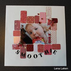 Lenas kort: Glad i Smoothie Smoothie, Doodles, Frame, Blog, Cards, Decor, Pictures, Picture Frame, Decoration