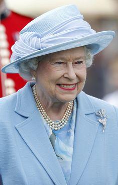 6/17/2012: Queen Elizabeth II attends the Cartier Queen's Cup final (Egham, Surrey)