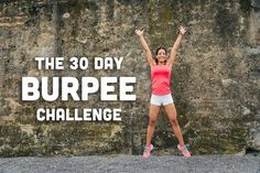 Get ready for October's burpee challenge!