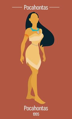 Pocahontas Illustration