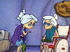 "The Flintstones ""Old Lady Betty"" Classic Cartoon Characters, Cartoon Tv Shows, Classic Cartoons, Flintstone Cartoon, Wilma Flintstone, Good Cartoons, Best Cartoons Ever, Os Flinstones, Betty Rubble"