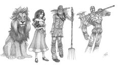 Cool interpretation of The Wizard of Oz characters. Description from pinterest.com. I searched for this on bing.com/images