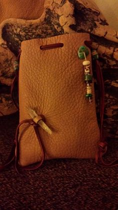 Deerhide Pouch for your Crystals or Whatever you may hold Precious.