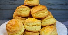 Cheese Scones, Homemade Biscuits, Bread Cake, Diy Food, Cooking Time, Sweet Recipes, Healthy Recipes, Bakery, Food And Drink