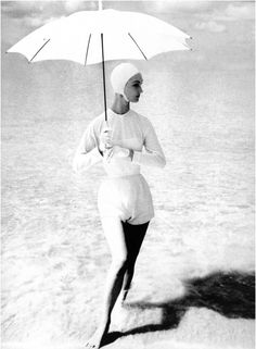 Evelyn Tripp  Photo by Lillian Bassman, Barbados, 1954