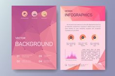 Abstract Business Flyers, eps 10. Business Infographic. $5.00