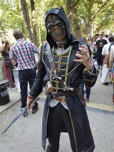 Corvo Attano - Dishonored cosplay