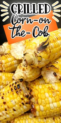 Delicious Corn on the Cob made directly on the grill. Did you know you could make corn directly on the grill, no foil and no husk needed and the result is a smoky and charred grilled flavor. We will teach you how to grill corn on the cob with no mess, no clean up! Barbecue Recipes, Grilling Recipes, Vegetable Recipes, Cooking Recipes, Grilling Tips, Corn Recipes, Dishes Recipes, Cooking Hacks, Easy Recipes