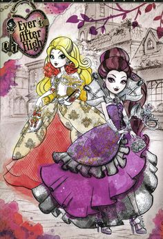 .apple white and raven queen: #eah #everafterhigh