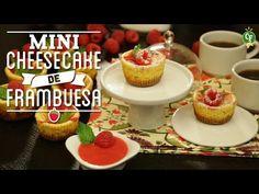 ¿Cómo preparar Minicheesecake de Frambuesa? - Cocina Fresca