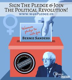 Are you one of the 1000s of women across the United States who are excited to vote for Bernie Sanders as the next President? Go to the link below to pledge. #Women4Bernie #FeelTheBern http://www.w4bpledge.us