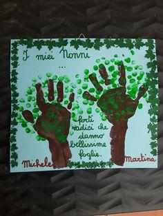 Festa dei nonni Grandparents Day Preschool, Autumn Activities, My Job, Montessori, Crafts For Kids, Classroom, Teaching, Education, Children