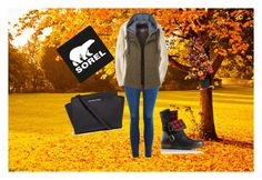"""Kick Up the Leaves (Stylishly) With SOREL: CONTEST ENTRY"" by karma-yoseob ❤ liked on Polyvore featuring Topshop, Uniqlo, LE3NO, Michael Kors, Improvements, SOREL and sorelstyle"