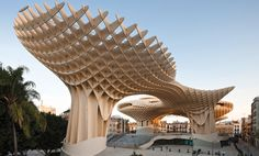 Metropol Parasol in Sevilla, Spain. Architect: Jürgen Mayer H.