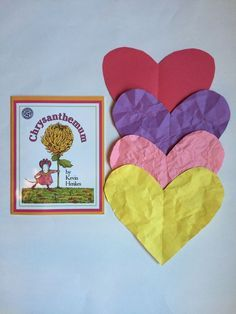 Chrysanthemum: Wrinkled Heart Activity from Encourage Play