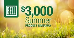 Bell Lifestyle Products $3,000 Summer Product Giveaway