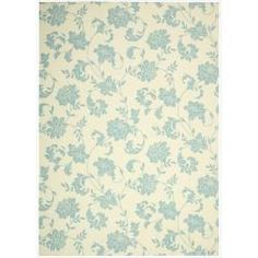 @Overstock - Add some excitement to any surrounding with this magnificent blue and ivory indoor/outdoor rug. This versatile rug is beautiful to look at, soft to walk on, easy to clean by just hosing down and can withstand almost all outdoor conditions.http://www.overstock.com/Home-Garden/Indoor-Outdoor-Ivory-Rug-79-x-1010/6749414/product.html?CID=214117 $168.09