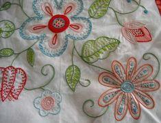 Ideias florais para bordados
