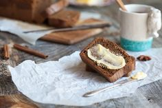 A gluten-free and dairy-free pumpkin bread recipe.