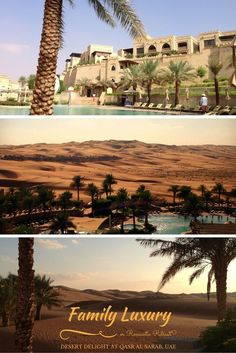 Family Luxury or Romantic Retreat? Have it your way at Qasr Al Sarab, an absolute Desert Delight hidden in the Liwa Desert, Abu Dhabi| Discover the UAE | Travel Diary | http://BabyGlobetrotters.Net