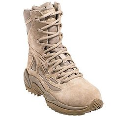 Reebok Women's Tan RB894 Rapid Response EH Composite Toe Military Boot