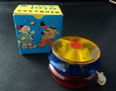 Vintage 1960's Lux JoJo YoYo Original Box Venesia Italy Souvenir #LUX LOVE YO YO's!