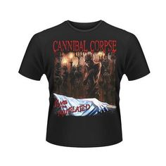 Tricou Cannibal Corpse: Tomb of the Mutilated