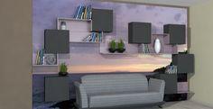 Magnetic modular YaCUBE with presonalized UV printed wall base .