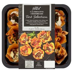 Tesco Finest Cheese Board Tart Selection 253G - Groceries - Tesco Groceries