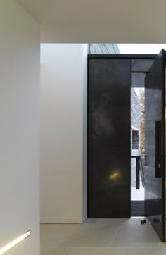 Entrance of the House M by Titus Bernhard Architekten _