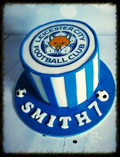 Leicester city football club birthday cake lcfc ⚽