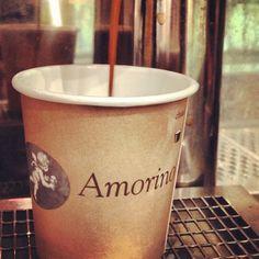 Espresso @ Amorino, #amorino #gelato #nyc #teamusa